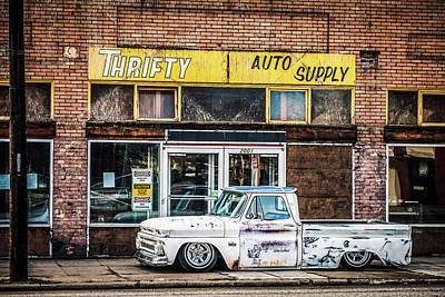 Chevy Pick Up 3 Art Print by Emily Fisher