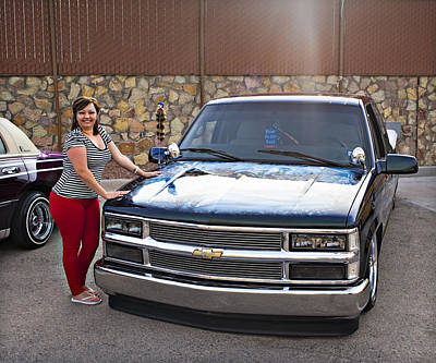 Photograph - Chevy Pick Up A1 by Walter Herrit