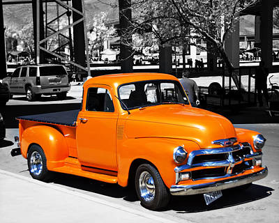 Photograph - Chevy Pick Up  by Walter Herrit