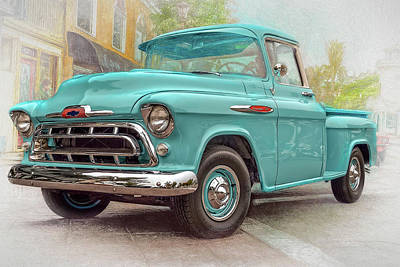 Photograph - Chevy Pickup 3100 by Bill Posner