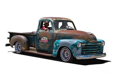 Chev Pickup Photograph - Chevy Pickup Truck by Nick Gray