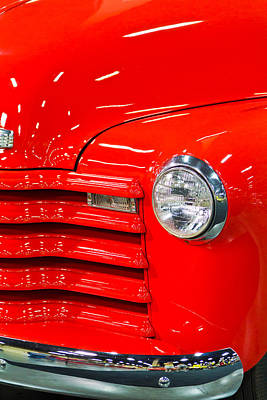 Barrett Jackson Wall Art - Photograph - Chevy Pickup by Wayne Vedvig