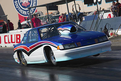 Photograph - Chevy Pro Mod by Richard J Cassato