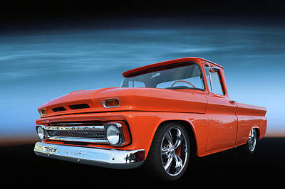 Photograph - Chevy Restomod Truck by Bill Dutting