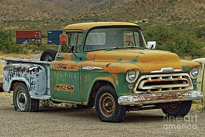 Photograph -  Chevy by Rick Mann