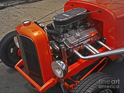 Photograph - Chevy Small Block by Curt Johnson