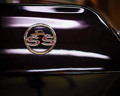 Photograph - Chevy Ss by Van Sutherland