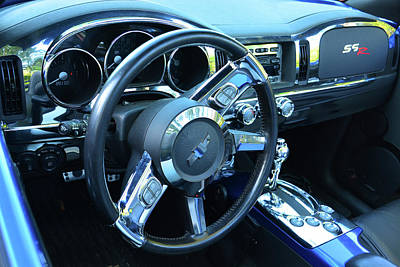 Photograph - Chevy Ssr Interior by Mike Martin