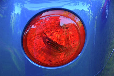 Photograph - Chevy Ssr Tail Light by Mike Martin