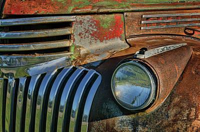 Photograph - Chevy Truck - Detail 1 by Nikolyn McDonald