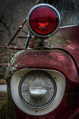 Photograph - Chevy Truck Lights by Paul Freidlund