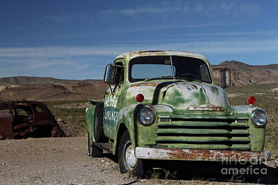 Photograph - Chevy Truck by Rick Mann