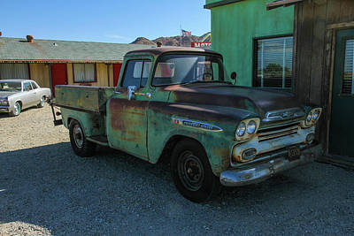 Photograph - Chevy Truck by Robert Hebert