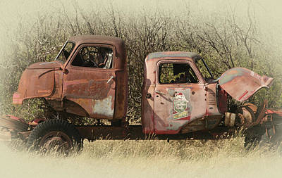 Photograph - Chevy Vs Chevy by Inge Riis McDonald
