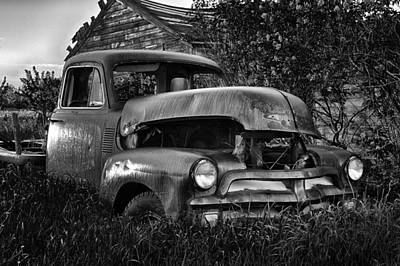 Photograph - Chevy Workhorse by CA  Johnson
