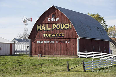 Photograph - Chew Mail Pouch by David Bearden