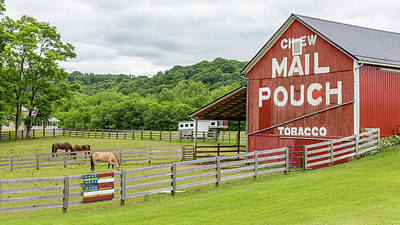 Mail Pouch Photograph - Chew Mail Pouch - U.s. 62 #1 by Stephen Stookey