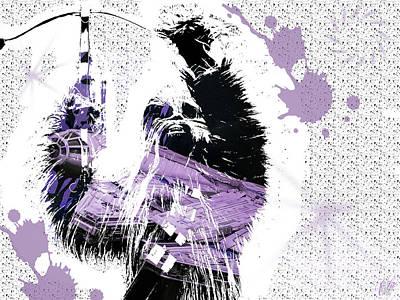 Digital Art - Chewbacca by Elie Wolf