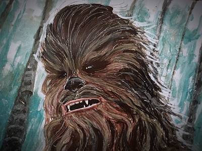 Painting - Chewbacca by Joel Tesch