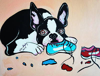 Painting - Chewy by Nora Shepley