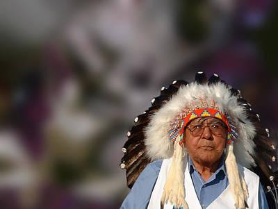 Photograph - Cheyenne Chief by Wayne King