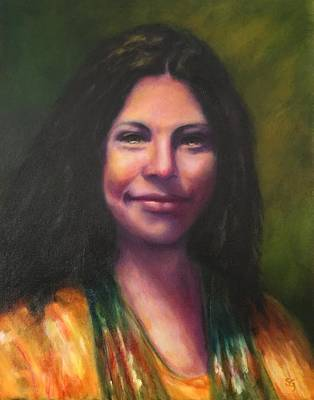Painting - Cheyenne by Shannon Grissom