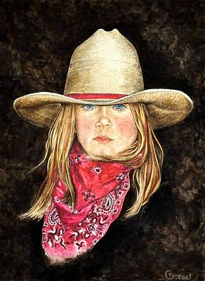 Cheyenne Art Print by Traci Goebel