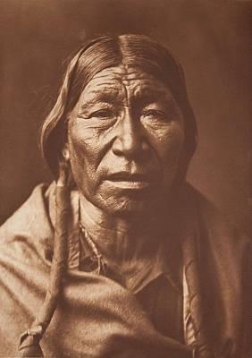 Cheyenne Type 1910 , Native American By Edward Sheriff Curtis, 1868 - 1952 Art Print