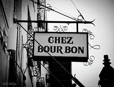 Chez Bourbon  Art Print