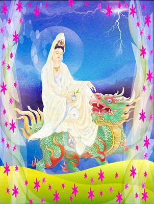 Chi Lin Kuan Yin 1 Art Print