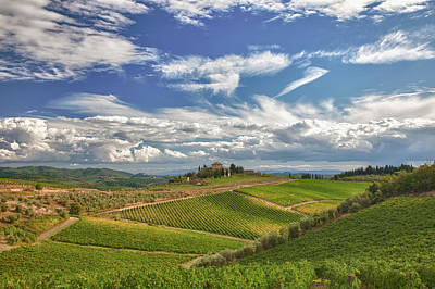 Chianti Afternoon Print by Eggers   Photography