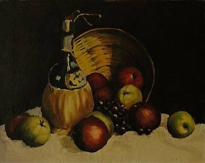 Teapot Painting - Chianti Bartolo by Chris  Riley