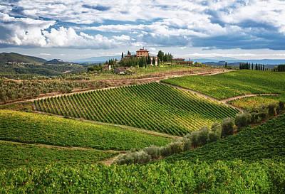 Chianti Hills Photograph - Chianti Landscape by Eggers   Photography