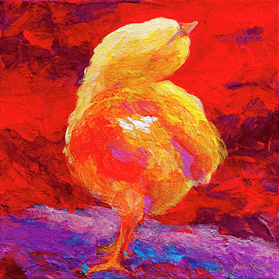 Chicks Painting - Chic Flic V by Marion Rose