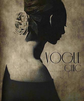 Beauty Digital Art -  Chic  by Paul Lovering
