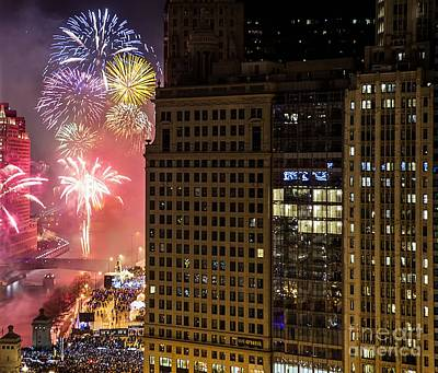 Chicago 2016 Art Print by Jeff Lewis