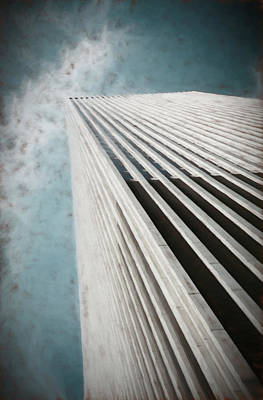 Photograph - Chicago Abstract Painterly by Mary Bedy