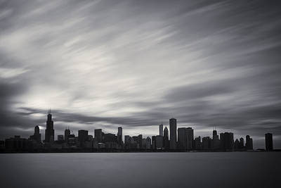 Silver City Photograph - Chicago by Adam Romanowicz