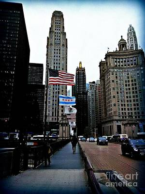Frank J Casella Royalty-Free and Rights-Managed Images - Chicago. Americas Windy City  by Frank J Casella