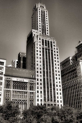 Photograph - Chicago Architecture - 12 by Ely Arsha
