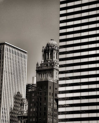 Photograph - Chicago Architecture - 14 by Ely Arsha