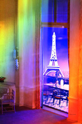 Chicago Art Institute Miniature Paris Room Pa Prismatic 08 Vertical Art Print by Thomas Woolworth