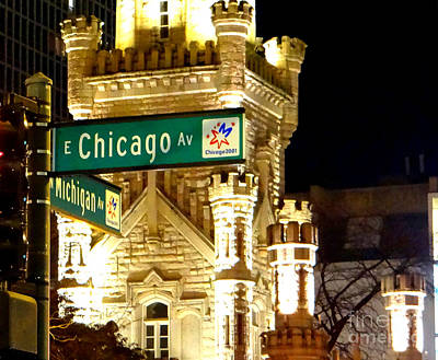 Photograph - Chicago Avenue  by Elizabeth Coats