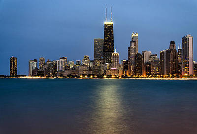 Sears Tower Photograph - Chicago Beachfront by Matt Hammerstein