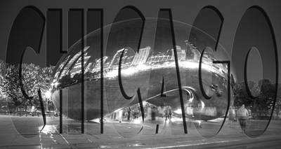 Photograph - Chicago Bean by John McGraw