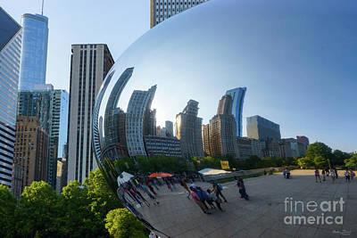 Photograph - Chicago Bean Reflection by Jennifer White
