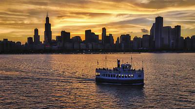Photograph - Chicago Beauty by John Hansen