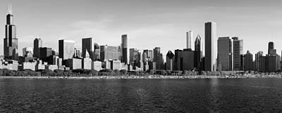 Schwartz Photograph - Chicago Black And White by Donald Schwartz