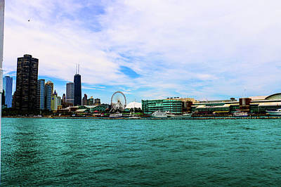 Photograph - Chicago Blue by D Justin Johns
