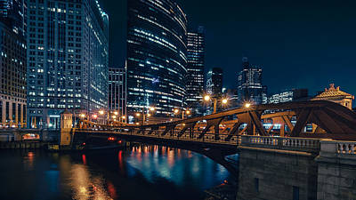 Photograph - Chicago Blue II by Nisah Cheatham